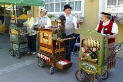 Austria_Barrelorgaan Stock Foto's