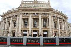 austria burgtheater Vienna Obrazy Royalty Free
