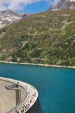 Austria, carinthia, malta reservoir Royalty Free Stock Image