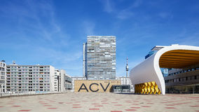 Austria Center Vienna ACV, conference and exhibition center. Royalty Free Stock Image