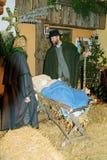 Austria, Christmas crib Stock Photography