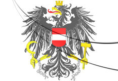 Austria coat of arms Royalty Free Stock Images
