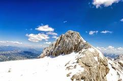 austria dachstein lodowiec Obraz Royalty Free