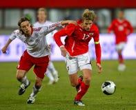 Austria - Denmark Stock Image