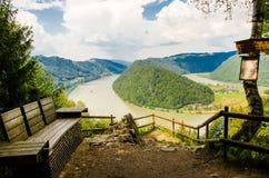 Austria, el río Danubio Imagen de archivo libre de regalías