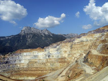 Austria, Erzberg Mountain Stock Photography