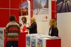 Austria exhibition at TT Warsaw Royalty Free Stock Photos