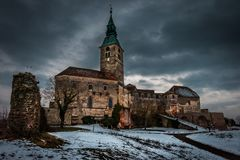 Castle of Gassing in Austria stock images