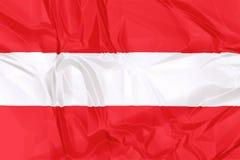 austria flagę ilustracja wektor