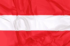 austria flagę Obraz Royalty Free