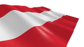 austria flagę Zdjęcia Stock