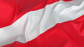 Austria Flag Stock Photo