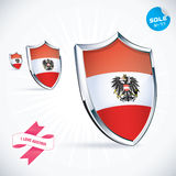 Austria Flag Royalty Free Stock Photos