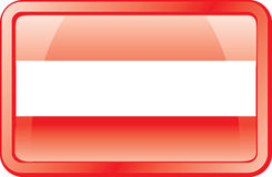 Austria Flag Icon Royalty Free Stock Images