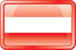 Austria Flag Icon royalty free stock images