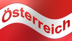 Austria flag,illustration. Austria flag,best illustration and background royalty free illustration