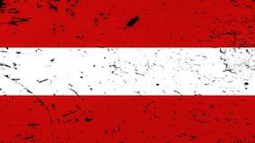 austria flag? Patriotyczny stary grunge rocznika tekstury t?o elementy projektu podobie?stwo ilustracyjny wektora ilustracja wektor