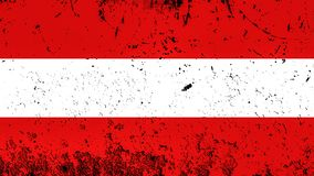 austria flag? Patriotyczny stary grunge rocznika tekstury t?o elementy projektu podobie?stwo ilustracyjny wektora ilustracji