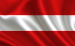 Austria flag. A series of `Flags of the world.`  The country -  Austria flag. Austria flag.  A series of `Flags of the world.`  The country -  Austria flag Vector Illustration