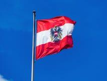 Austria flaga Obrazy Royalty Free