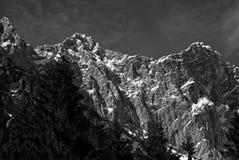Austria, GÃ ³ ry Alpy, Rejon Salzburg Zdjęcia Royalty Free