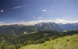 Austria gór lata krajobrazu Lesachtal Gailtal natura Obraz Stock