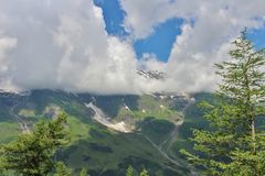 austria grossglockner Fotografia Stock