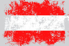 Austria grunge, old, scratched style flag Royalty Free Stock Photo