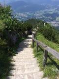 Austria hike. Hiking in Austria Royalty Free Stock Photos