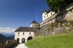 Austria - Hochosterwitz Burg. Old medieval Castle Hochosterwitz in Carinthia/Austria. The castle belongs to the landmarks of Carinthia Stock Photo