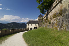 Austria - Hochosterwitz castle Stock Photography