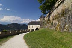 Austria - Hochosterwitz castle. Austria:  view from the Hochosterwitz castle courtyard Stock Photography