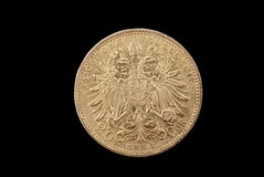 Austria-Hungary ancient gold coin Stock Photography