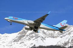 Boeing 757 from TUI stock photo