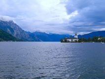 Austria jeziora & góry - Zdjęcie Royalty Free