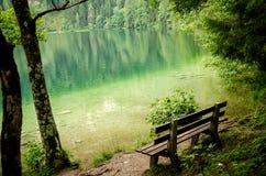 Austria, jezioro obrazy royalty free