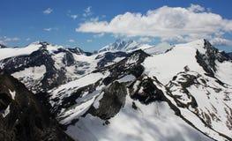 austria kaprun kurort widzii narciarskiego zell Obraz Stock
