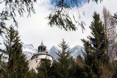 austria kasztel hohenwerfen Zdjęcie Stock
