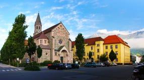 austria katedra Innsbruck Obraz Stock