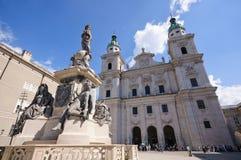 austria katedra Salzburg zdjęcia stock