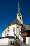 Austria, Kirchberg w Tirol kościół - Fotografia Royalty Free