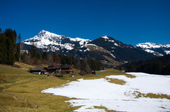 Austria - Kitzbuheler Horn Stock Photo