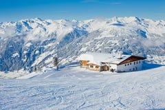 austria kurortu narciarstwo Fotografia Stock