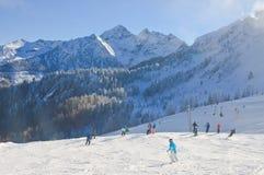 austria kurortu Schladming narta Austria Zdjęcie Stock