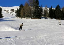 austria kurortu ski Zdjęcia Royalty Free