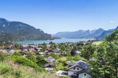Austria Lake Wolfgangsee Royalty Free Stock Images
