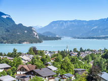 Austria Lake Wolfgangsee Royalty Free Stock Images