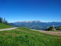 Austria landscape. Sommer Austria wilder kyzer mountain royalty free stock image