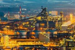 Austria, linz, industrial area Stock Photos