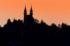 Austria, linz, poestlingberg Royalty Free Stock Images